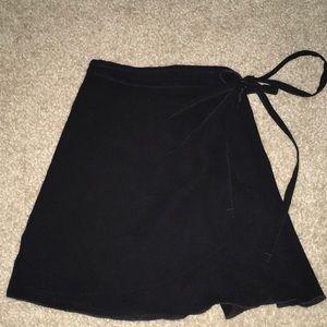 Wrap ballet skirt